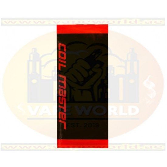 2x Authentic Coil Master PVC 18650 Battery Sleeve