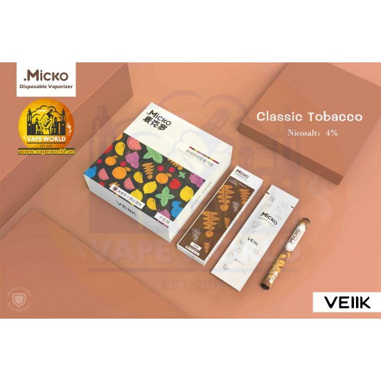 MICKO DISPOSABLE VAPORIZER By VEIIK ( 1 Piece )