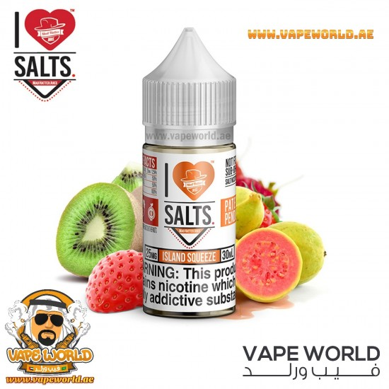 Island Squeeze by I Love Salts 30ml Mad Hatter Ejuice