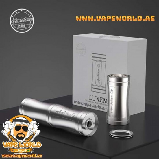 Luxem 18350/18650 Tube Mod by Ambition Mods