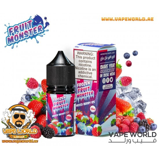 FROZEN FRUIT MONSTER SALT MIXED BERRY ICE 30ML