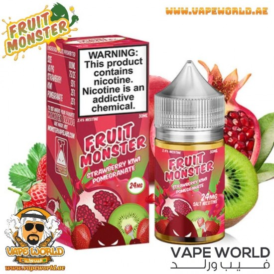 FRUIT MONSTER STRAWBERRY KIWI POMEGRANATE SALT NIC 30ML
