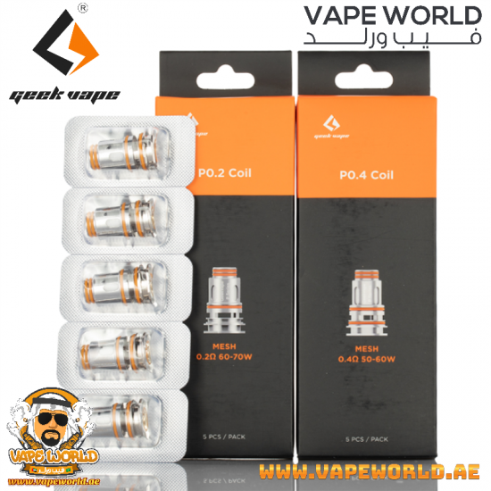 GEEKVAPE P SERIES COIL FOR AEGIS BOOST PRO 5PCS/PACK